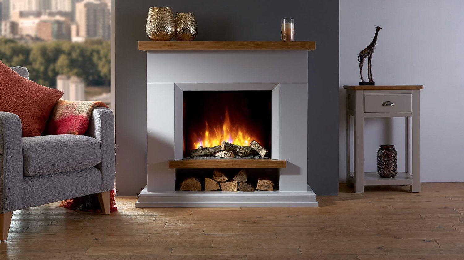 fireplaces fireplace mantel larger view the package canterbury electric napoleon