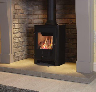 gas stove fireplace. OER Gas Stove With Black Door And Standard Log Set Fireplace O