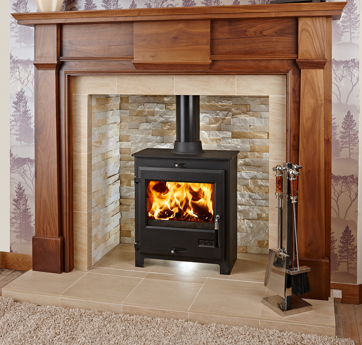 Solid Wood Fire Surrounds Handmade For Your Home Oer Flagship Kensingston Fireplace