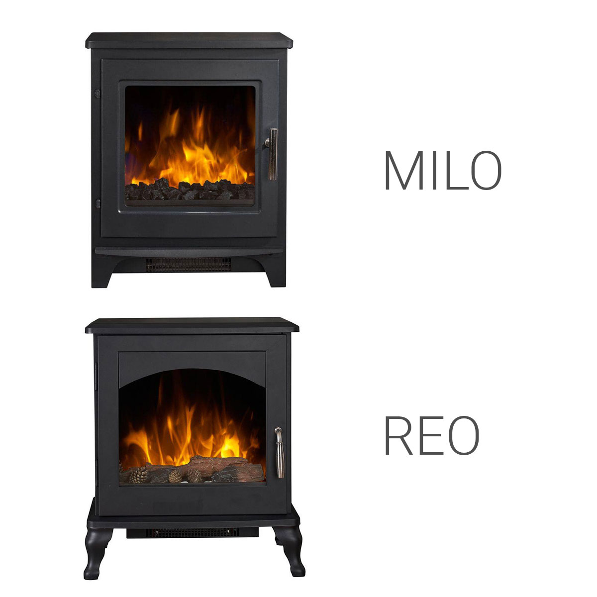 OER Milo and Reo Stoves